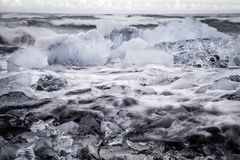 Glacial Ice Stock Image