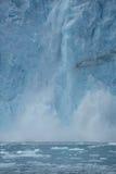 Glacial ice crash Stock Photo