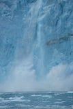 Glacial ice crash Royalty Free Stock Photo