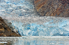 Glacial Ice Flow Royalty Free Stock Photography