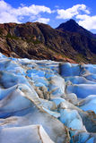 Glacial ice formations Royalty Free Stock Image