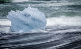 Glacial Ice Royalty Free Stock Photography