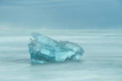 Glacial Iceberg Seascape. Stock Photo