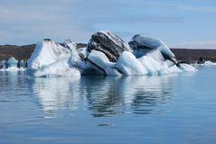 Glacial Lagoon Stock Images