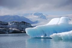 Glacial Lagoon Stock Photo