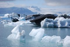 Glacial Lagoon Royalty Free Stock Photo