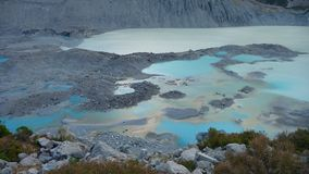 Glacial lake Royalty Free Stock Photos