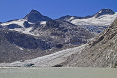 Glacial lake Stock Photos