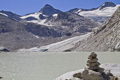 Glacial lake Royalty Free Stock Images
