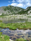 Glacial lake Stock Photography