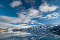 Glacial lake Stock Photography