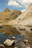 Glacial lake in Aran Valley in Pyrenees Royalty Free Stock Photo
