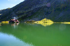 Glacial Lake of Balea Stock Photography
