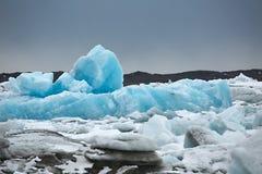 Glacial lake in Iceland. Glacial lake in Jokulsarlon, Icelandic landscape stock photo