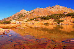 Glacial lake at national park Pirin, Bulgaria Stock Photo