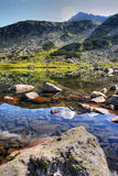 The glacial lake in Rila Royalty Free Stock Images