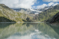 Glacial lake 3 Stock Images