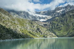 Glacial lake 2 Royalty Free Stock Photos