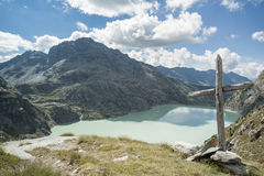 Glacial lake 5 Royalty Free Stock Images