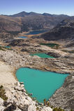 Glacial Lakes Royalty Free Stock Photography