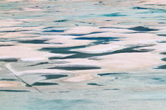 Glacial Meltwater from Grinnell Glacier Stock Images