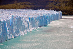 Glacial mountain landscape in Patagonia. Southern tip of South America including Argentina and Chile stock photo