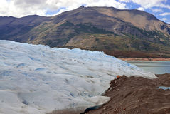 Glacial mountain landscape in Patagonia. Southern tip of South America including Argentina and Chile stock images