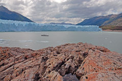 Glacial mountain landscape in Patagonia Stock Photography