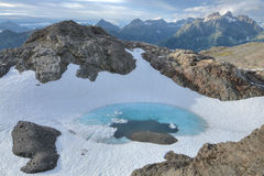 Glacial pool Royalty Free Stock Image