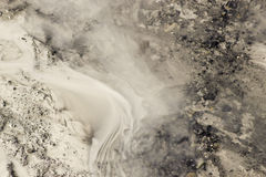 Glacial Silt Royalty Free Stock Photos