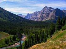 Glacial Valley Royalty Free Stock Photos