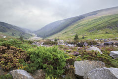 Glacial valley Glendalough Stock Photo