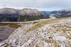 Glacial valley MacDonald Creek BC Canada Royalty Free Stock Photography