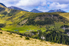 Glacial Valley at Stiol Royalty Free Stock Images