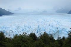 glaciar佩里托莫雷诺的冰 库存图片