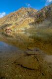 glaciar湖 免版税库存照片