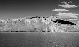 glaciar莫尔诺perito 图库摄影