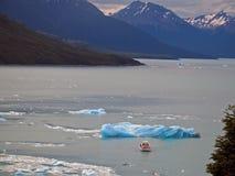 佩里托莫雷诺Glaciar 免版税图库摄影