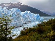 佩里托莫雷诺Glaciar 库存图片