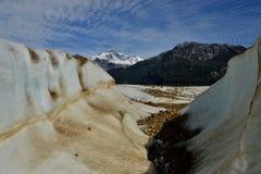 Glaciar Arkivbild