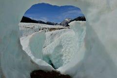 Glaciar Arkivfoto