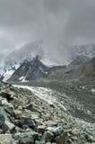 Glaciar de Akkem imagen de archivo