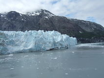 Glaciar de Alaska Foto de archivo libre de regalías