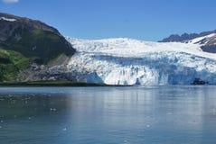Glaciar de Alaska Fotos de archivo libres de regalías