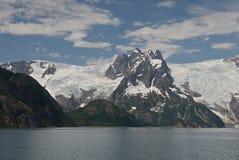 Glaciar de Alaska de la bahía del descubrimiento Fotografía de archivo libre de regalías
