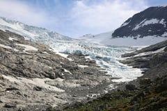 Glaciar de Bodalsbreen Imagen de archivo libre de regalías