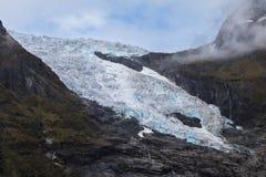 Glaciar de Boyabreen Foto de archivo