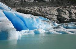 Glaciar de Briksdalsbreen Imagen de archivo
