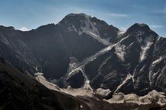 Glaciar de Cheget siete Fotos de archivo libres de regalías