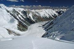 Glaciar de Dzerzhinsky Fotografía de archivo libre de regalías